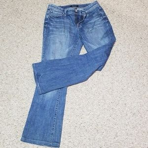 WHBM straight leg blue jeans